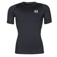 Textiel Heren T-shirts korte mouwen Under Armour UA HG ARMOUR COMP SS Zwart