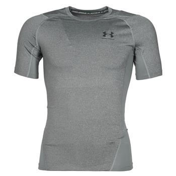 Textiel Heren T-shirts korte mouwen Under Armour UA HG ARMOUR COMP SS Grijs