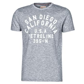 Textiel Heren T-shirts korte mouwen Petrol Industries T-SHIRT SS R-NECK K Grijs