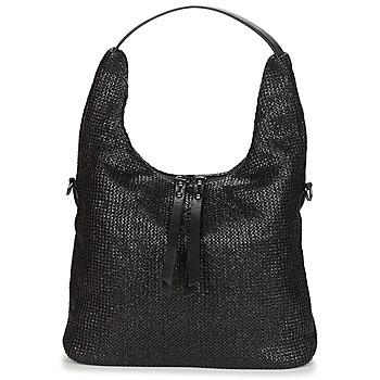 Tassen Dames Handtassen kort hengsel Casual Attitude OMAY Zwart