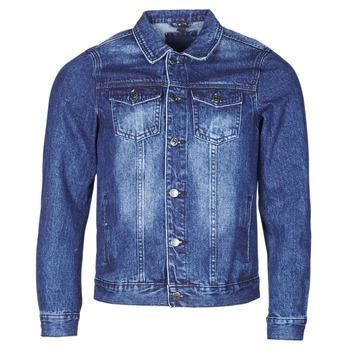 Textiel Heren Spijker jassen Yurban OPSI Blauw / Medium