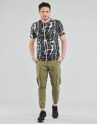 Textiel Heren 5 zakken broeken Yurban OUNERI Kaki