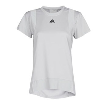 Textiel Dames T-shirts korte mouwen adidas Performance TRNG TEE H.RDY Grijs