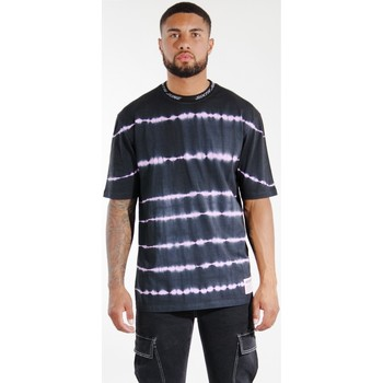 Textiel Heren T-shirts & Polo's Sixth June T-shirt  Tie & Dye noir/violet
