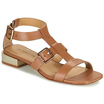 Schoenen Meisjes Sandalen / Open schoenen JB Martin HARIA Brown