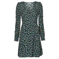 Textiel Dames Korte jurken Naf Naf LEO R1 Leo / Zwart / Groen