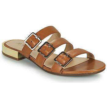 Schoenen Dames Leren slippers JB Martin BEKA Brown