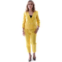Textiel Dames Anzüge Fracomina FR20SP090 Geel
