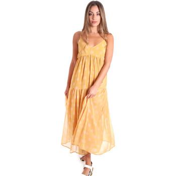 Textiel Dames Lange jurken Fracomina FR20SMLINDA Geel