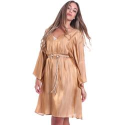 Textiel Dames Korte jurken Fracomina FR20SMELISABETH Goud