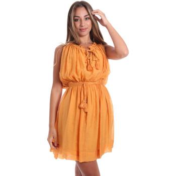 Textiel Dames Korte jurken Fracomina FR20SMANA Geel