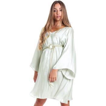 Textiel Dames Korte jurken Fracomina FR20SMELISABETH Groen