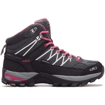 Schoenen Dames Hoge sneakers Cmp Rigel Mid Wmn WP Gris, Rose, Graphite
