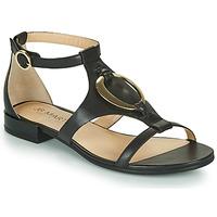 Schoenen Meisjes Sandalen / Open schoenen JB Martin BOCCIA Zwart
