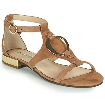 Schoenen Meisjes Sandalen / Open schoenen JB Martin BOCCIA Brown