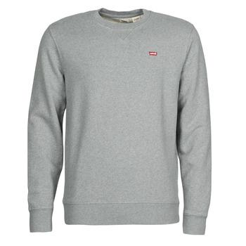 Textiel Heren Sweaters / Sweatshirts Levi's NEW ORIGINAL CREW Grijs