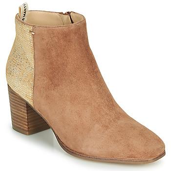 Schoenen Dames Hoge laarzen JB Martin 1LILOSI Brown