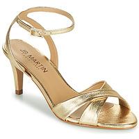 Schoenen Meisjes Sandalen / Open schoenen JB Martin POETIE Goud