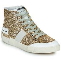 Schoenen Dames Hoge sneakers Meline  Goud
