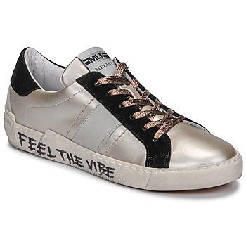 Schoenen Dames Lage sneakers Meline  Brons / Zwart