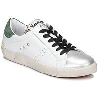Schoenen Dames Lage sneakers Meline  Wit / Groen