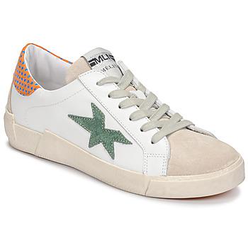 Schoenen Dames Lage sneakers Meline NK1364 Wit / Groen