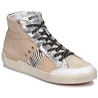 Schoenen Dames Lage sneakers Meline  Beige / Zebra