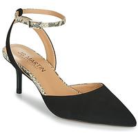 Schoenen Meisjes Sandalen / Open schoenen JB Martin TWISTO Zwart / Wit