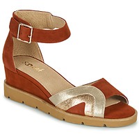 Schoenen Dames Sandalen / Open schoenen Sweet ETUVESS Bordeaux / Goud