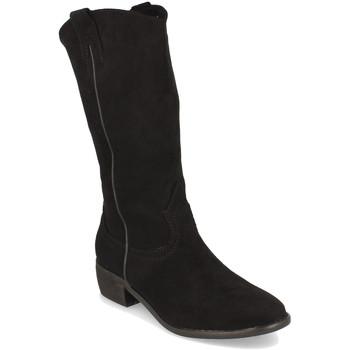 Schoenen Dames Hoge laarzen Buonarotti 1S-0513 Negro