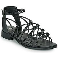 Schoenen Dames Sandalen / Open schoenen The Divine Factory LS1793H Zwart