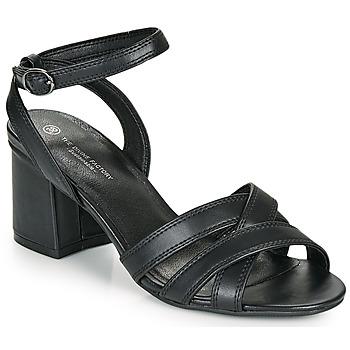 Schoenen Dames Sandalen / Open schoenen The Divine Factory LS2115 Zwart