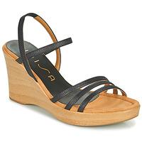 Schoenen Dames Sandalen / Open schoenen Unisa RENERA Zwart