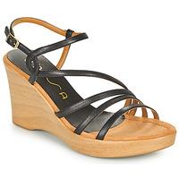 Schoenen Dames Sandalen / Open schoenen Unisa RABAL Zwart