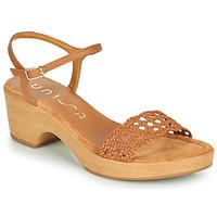Schoenen Dames Sandalen / Open schoenen Unisa ILOBI  camel
