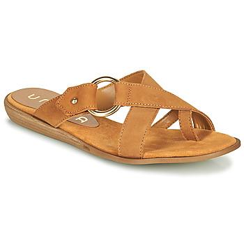 Schoenen Dames Slippers Unisa ADRIEL  camel