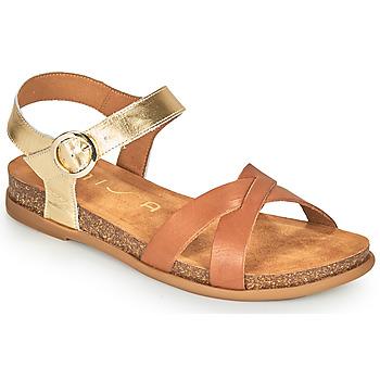 Schoenen Dames Sandalen / Open schoenen Unisa CINCEL  camel