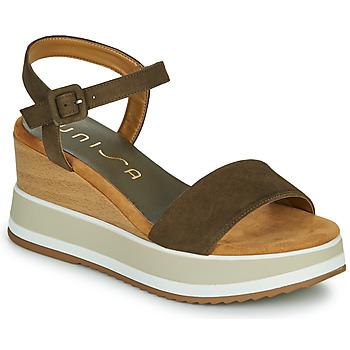 Schoenen Dames Sandalen / Open schoenen Unisa KOLLA Kaki