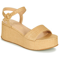 Schoenen Dames Sandalen / Open schoenen Unisa LAIKI Beige