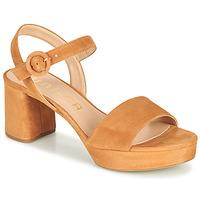Schoenen Dames Sandalen / Open schoenen Unisa NENES  camel