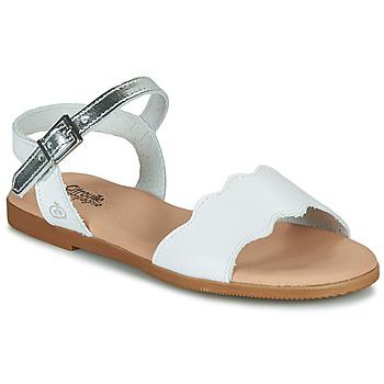 Schoenen Meisjes Sandalen / Open schoenen Citrouille et Compagnie OBILO Wit