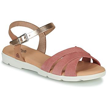 Schoenen Meisjes Sandalen / Open schoenen Citrouille et Compagnie OBILOU Roze