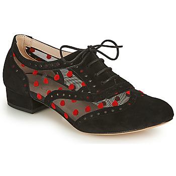 Schoenen Dames Klassiek Fericelli ABIAJE Zwart / Rood
