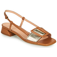 Schoenen Dames Sandalen / Open schoenen Fericelli PANILA  camel / Goud