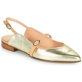Schoenen Dames Ballerina's Fericelli SUSANNA Goud