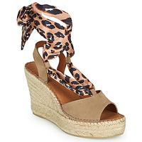 Schoenen Dames Sandalen / Open schoenen Fericelli SERRAJE Brown