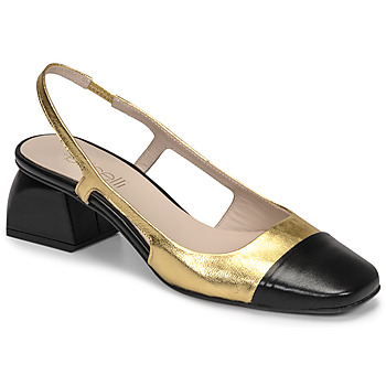 Schoenen Dames pumps Fericelli TIBET Goud / Zwart