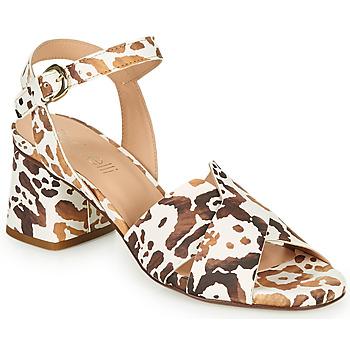 Schoenen Dames Sandalen / Open schoenen Fericelli ONAPA Beige / Goud