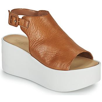 Schoenen Dames Sandalen / Open schoenen Sweet Lemon PYTON Brown