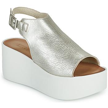 Schoenen Dames Sandalen / Open schoenen Sweet Lemon PYTON Zilver